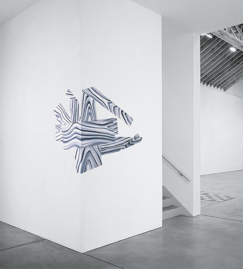 Richard Artschwager - Corner Splat