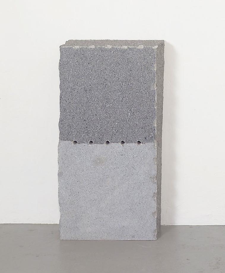 Ulrich Rückriem - Granite bleu de Vire