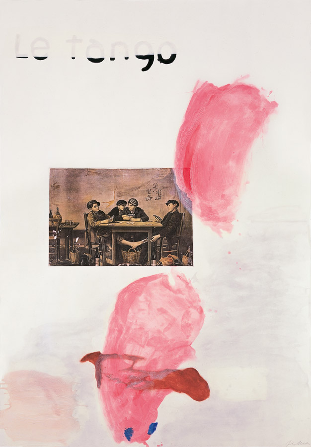 Julian Schnabel - Le Tango I
