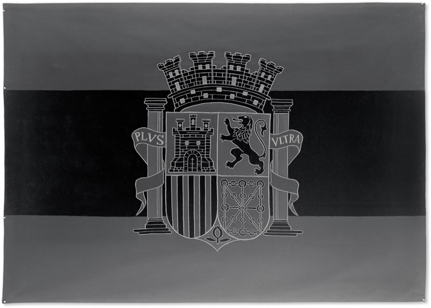 Santiago Sierra - Bandera Negra...