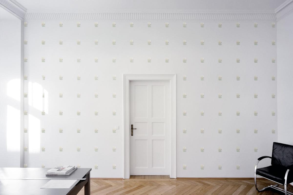 Santiago Sierra - Wall With Blattodea Pheromone