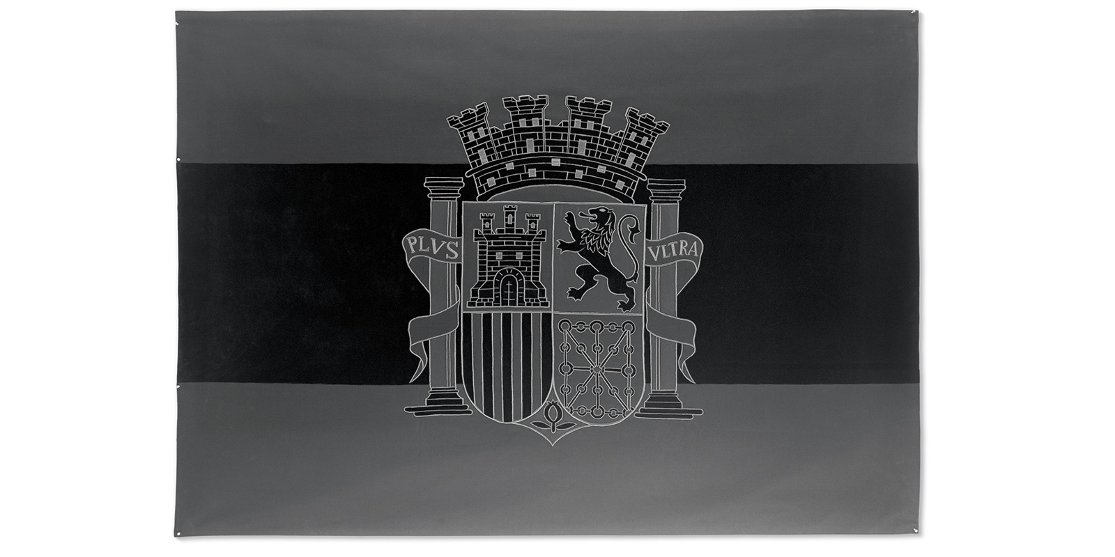 Santiago Sierra, Black Flag of the Spanish Republic