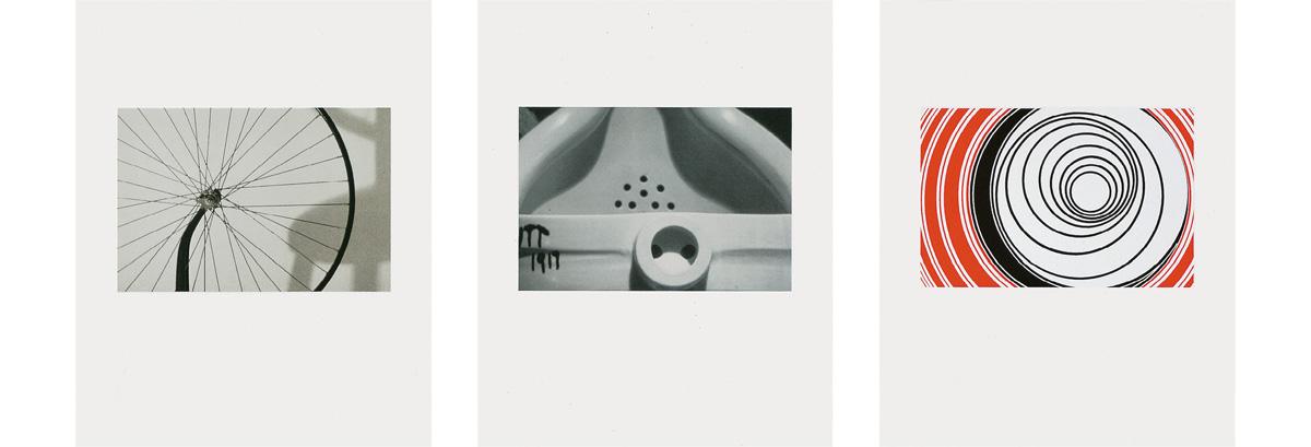 Elaine Sturtevant - Duchamp Triptych