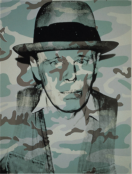 Andy Warhol - Joseph Beuys in Memoriam