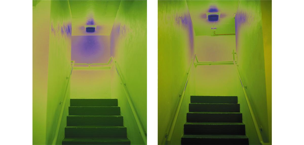 Catherine Yass - Stairs 1998